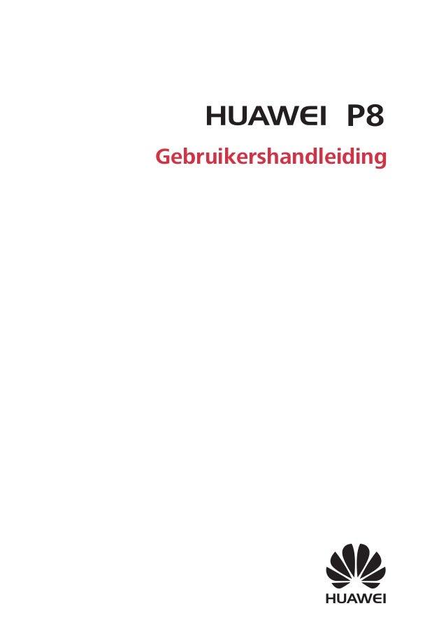 Gebruikershandleiding P8