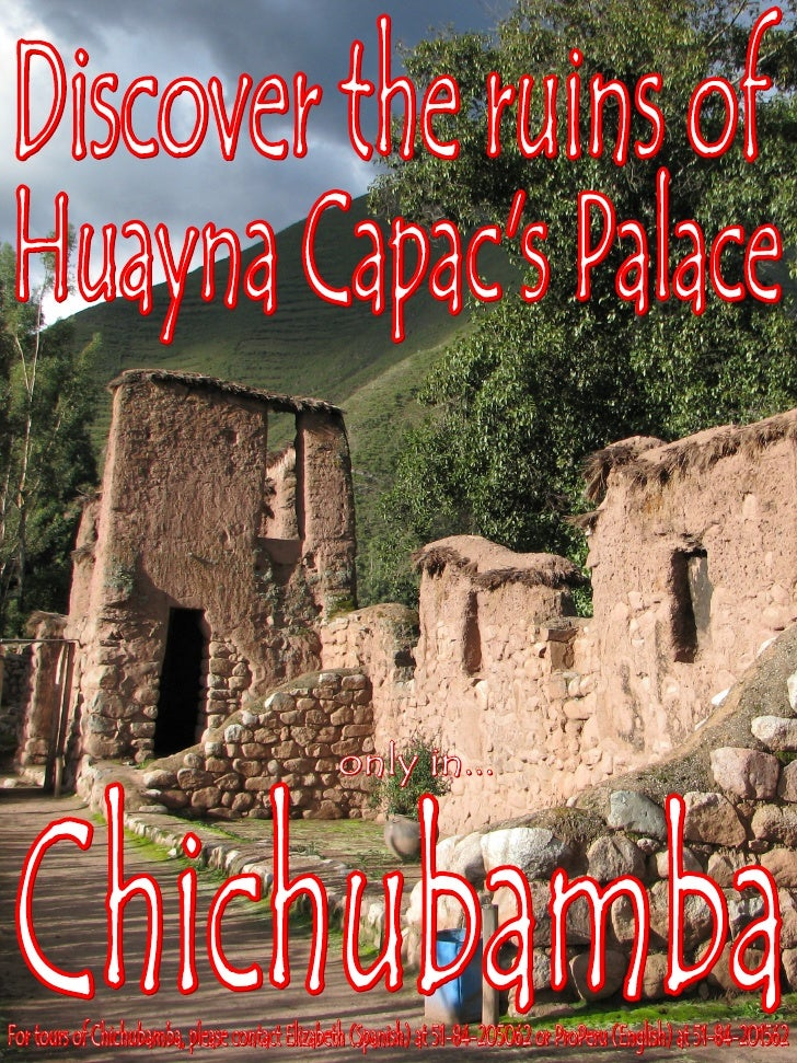 Chichubamba Poster- Huayna Capac (English)