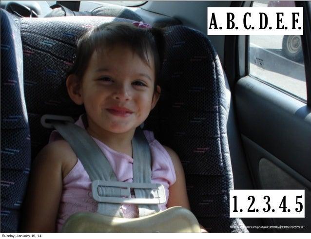 A. B. C. D. E. F.  1. 2. 3. 4. 5 http://www.flickr.com/photos/54899856@N00/2703979945/  Sunday, January 19, 14