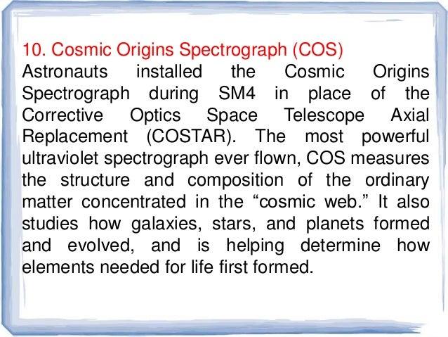 Spectroscopic study of elements