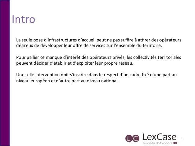 Hubert de Boisse - THD et entreprises : quelles bonnes pratiques pour mon territoire ? Slide 3