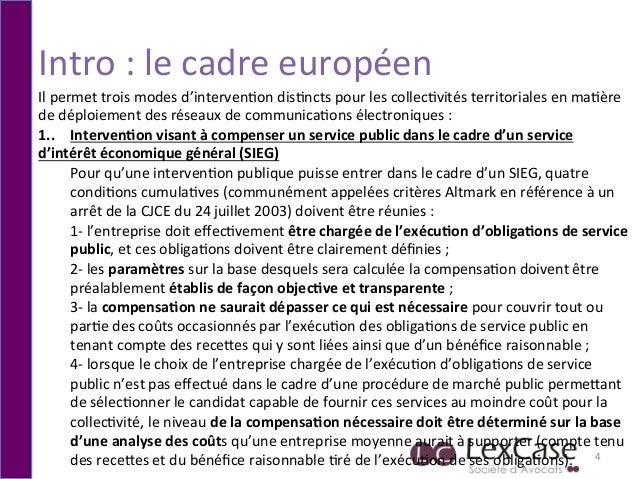 Intro  :  le  cadre  européen   4   Il  permet  trois  modes  d'interven6on  dis6ncts  pour  les...