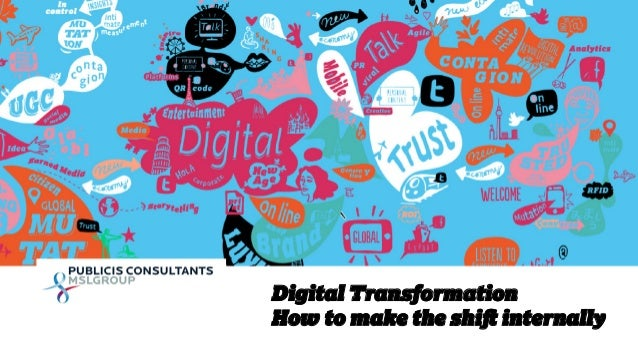 1  Digital Transformation  How to make the shift internally
