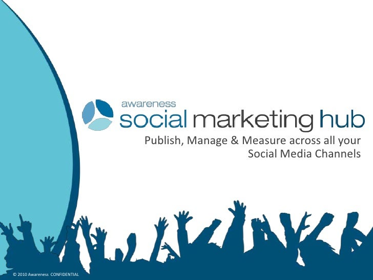 Publish, Manage & Measure across all your Social Media Channels<br />© 2010 Awareness  CONFIDENTIAL<br />