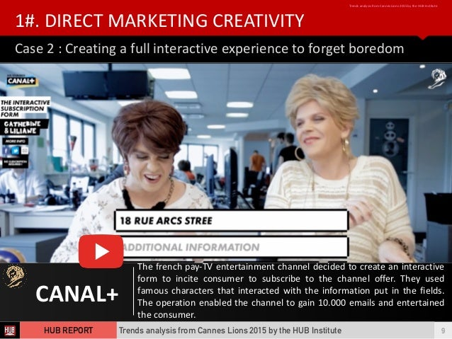 Cannes Lions Study Abroad Promo on Vimeo
