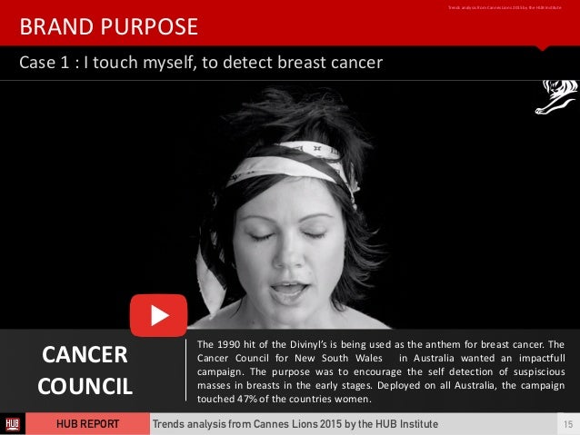 Case  1  :  I  touch  myself,  to  detect  breast  cancer BRAND  PURPOSE Trends  analysis  from  ...