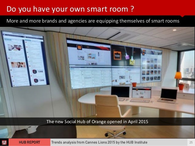 More  and  more  brands  and  agencies  are  equipping  themselves  of  smart  rooms Do  you  ha...