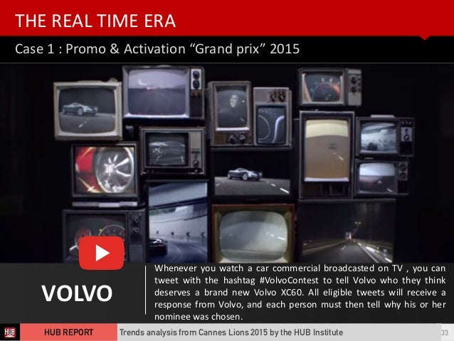 """Case  1  :  Promo  &  Activation  """"Grand  prix""""  2015 THE  REAL  TIME  ERA 33 VOLVO Whenever  you..."""