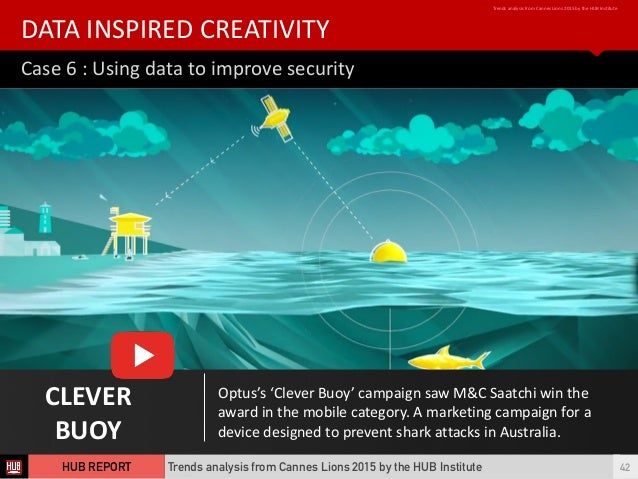 Case  6  :  Using  data  to  improve  security DATA  INSPIRED  CREATIVITY Trends  analysis  from  ...