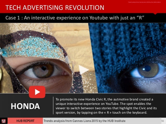 """Case  1  :  An  interactive  experience  on  Youtube  with  just  an  """"R"""" TECH  ADVERTISING  REV..."""