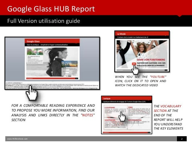 HUB Report Google Glass - Welcome to the Augmented Humanity Era Slide 3