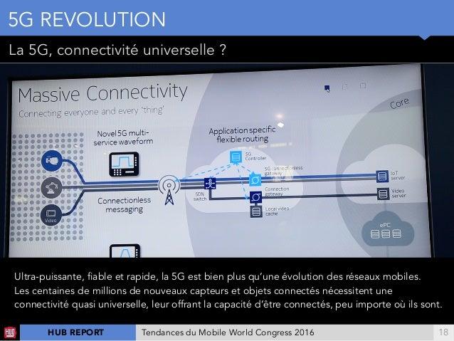 !18 La 5G, connectivité universelle ? 5G REVOLUTION Ultra-puissante, fiable et rapide, la 5G est bien plus qu'une évolutio...