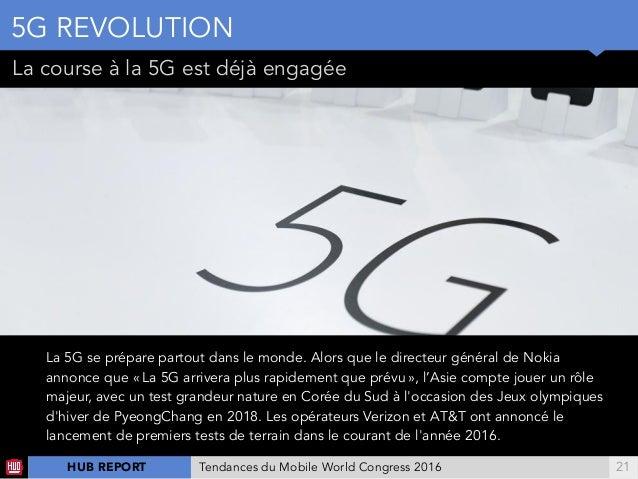 !21 La course à la 5G est déjà engagée ENJEU NTTDOCoMo NOKIA ENJEU La 5G se prépare partout dans le monde. Alors que le ...