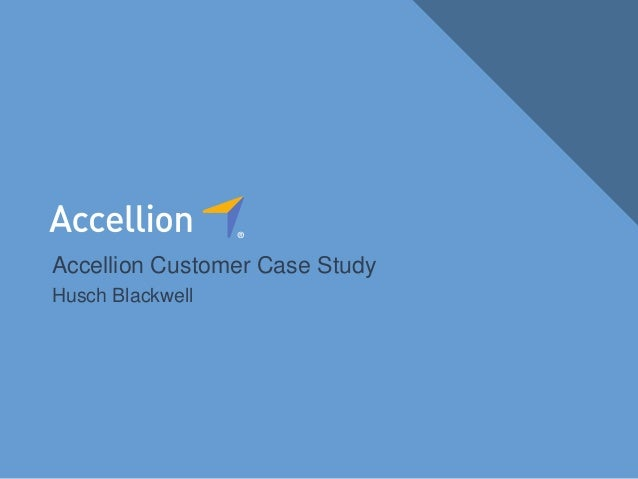 1Confidential Introducing kiteworks Accellion Customer Case Study Husch Blackwell