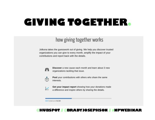 4 Ways To Engage Millennials with Your Nonprofits Work Slide 53