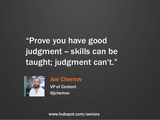 Career Advice for the Class of 2014, With Love From HubSpot Slide 2