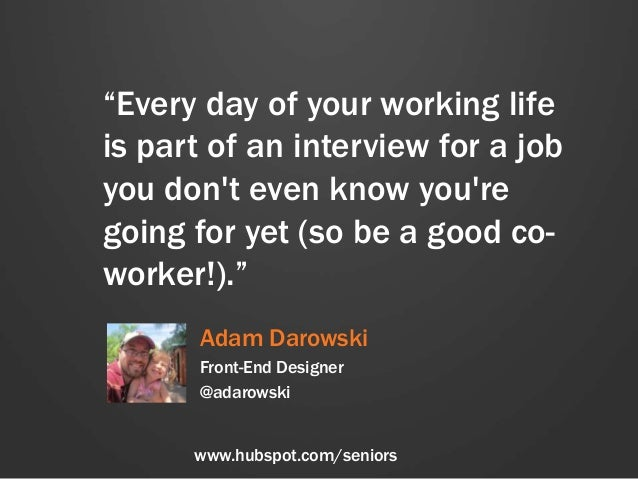 Career Advice for the Class of 2014, With Love From HubSpot Slide 3