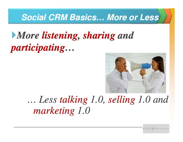 The Three A's Of Social CRM    Keys to keeping and growing good                 l ti hi               relationships Automa...