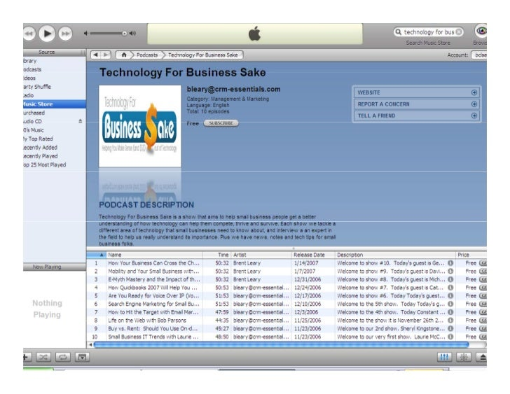 Benefits of Social Media on Customer      Relationship Management                              Avanade – June 2008