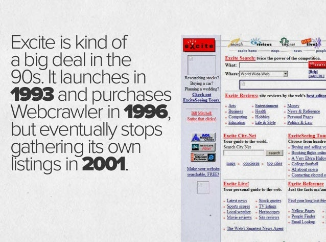 Launchedin1994, Lycosisoneofthe earliestcrawler-based searchengines. By1997 ithas indexedover60 milliondocuments.It eventu...