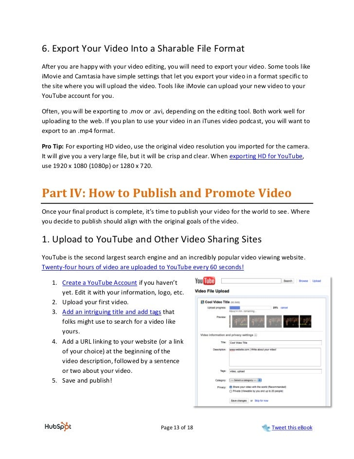 6. Export Your Video Into a Sharable File FormatAfter you are happy with your video editing, you will need to export your ...