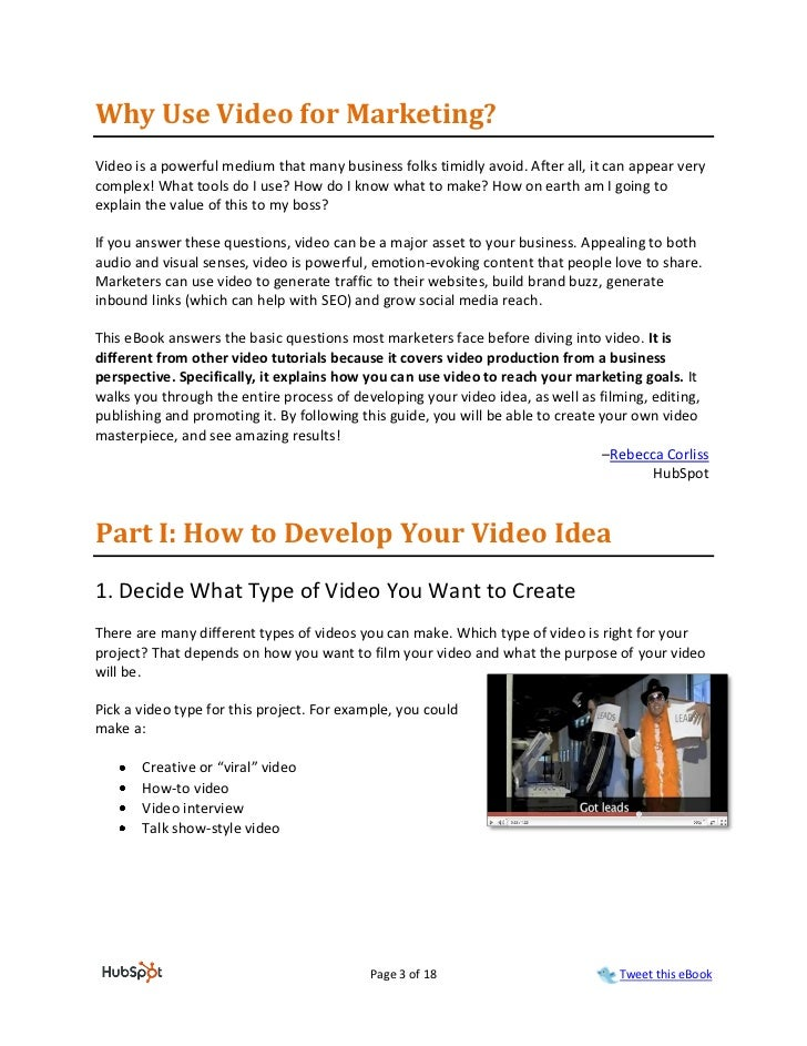 Why Use Video for Marketing?Video is a powerful medium that many business folks timidly avoid. After all, it can appear ve...