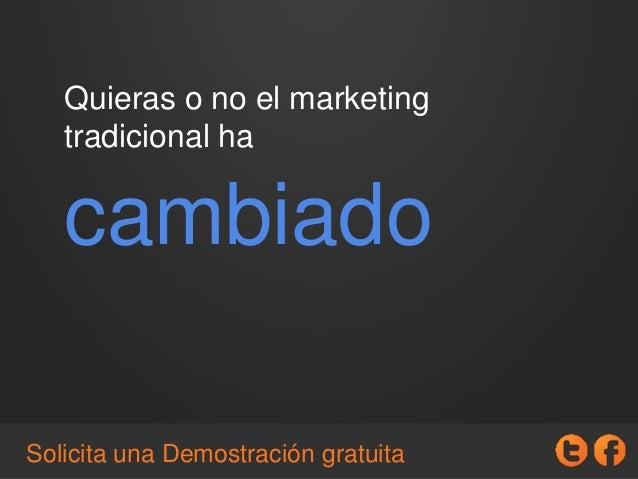 Que es el Inbound Marketing y como ponerlo en marcha en tu empresa. Slide 2