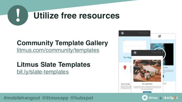 Things You Didnt Know About Mobile Email From Litmus HubSpot - Litmus free email templates