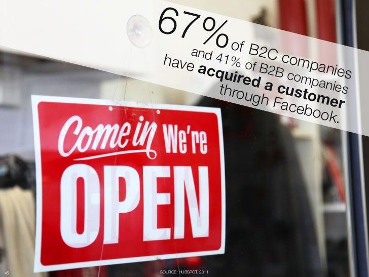 67% o                 f B2C                   and 4       have    1% o     comp            acqu f B2B c      anies        ...