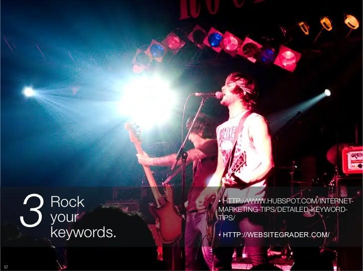 "3   Rock ""       • HTTP://WWW.HUBSPOT.COM/INTERNET-                       MARKETING-TIPS/DETAILED-KEYWORD-          your ..."
