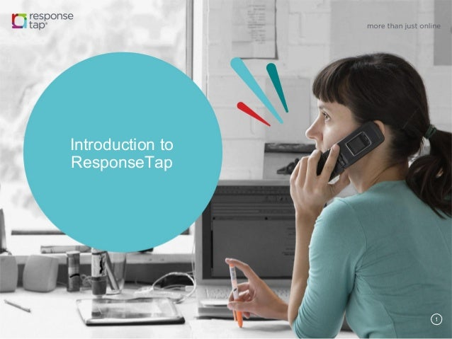 1 Introduction to ResponseTap
