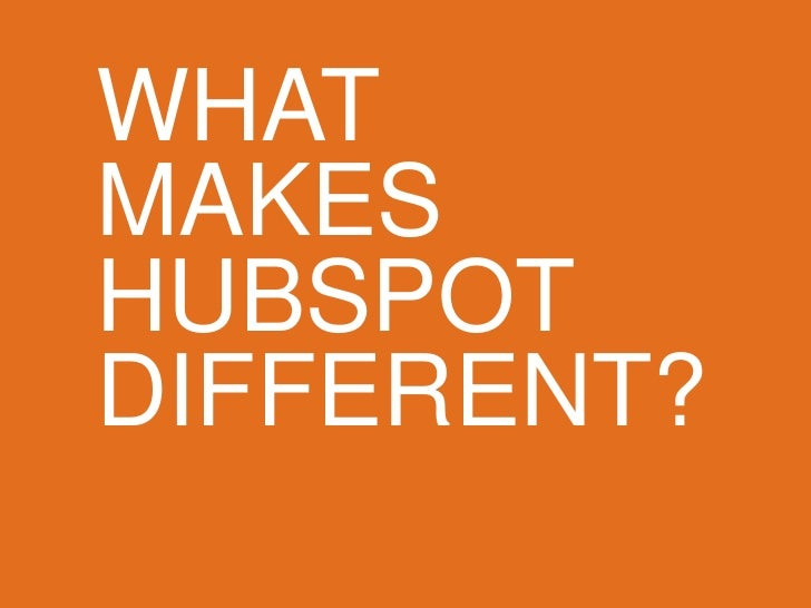 HubSpot Product Overview Slide 2