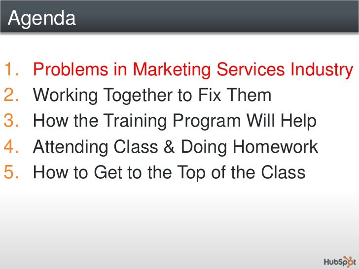 HubSpot Training Program for Marketing Agencies & Consultants : Reinventing the Marketing Services Industry Together Slide 3