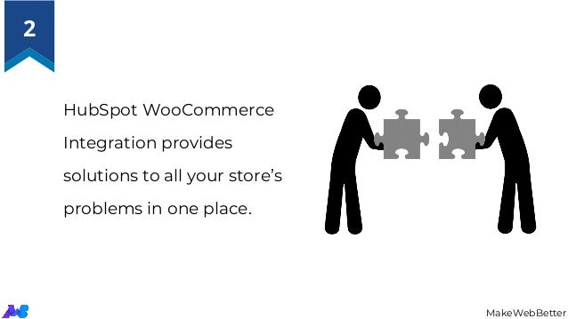 HubSpot WooCommerce Integration provides solutions to all your store's problems in one place. MakeWebBetter 2