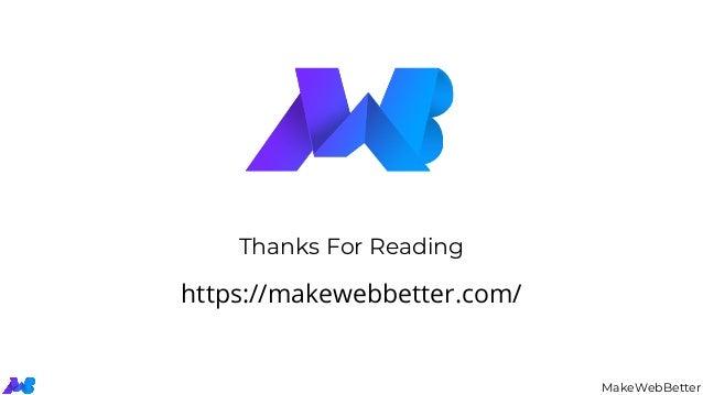 MakeWebBetter Thanks For Reading https://makewebbetter.com/