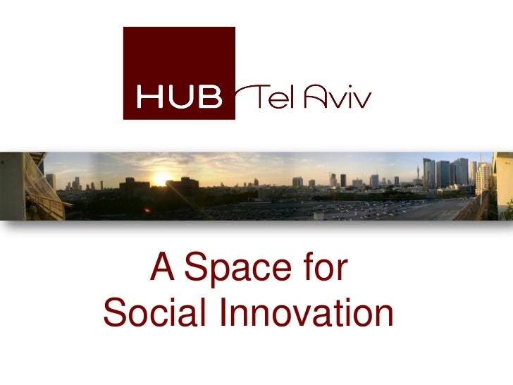 A Space forSocial Innovation