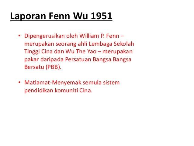Laporan Fenn Wu 1951 Laporan Barnes