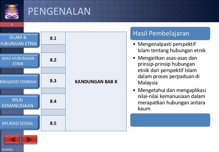 Hubungan etnik   islam & hubungan etnik Slide 2