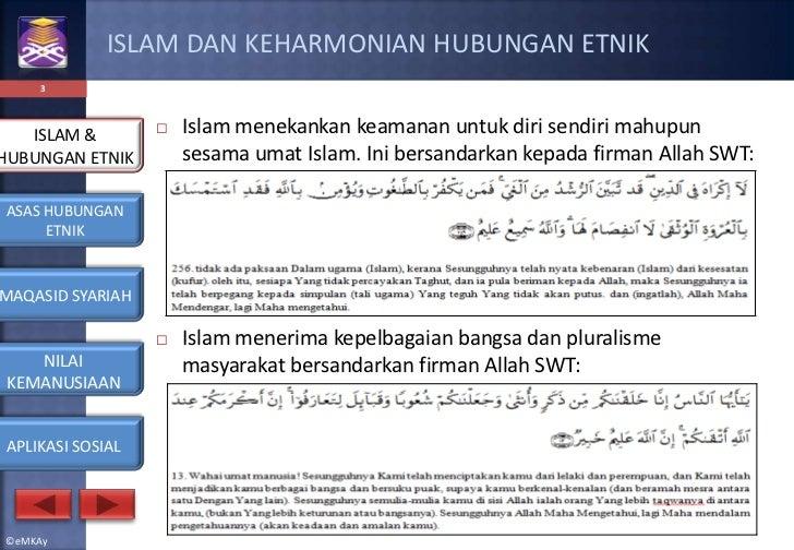 Hubungan etnik   islam & hubungan etnik Slide 3