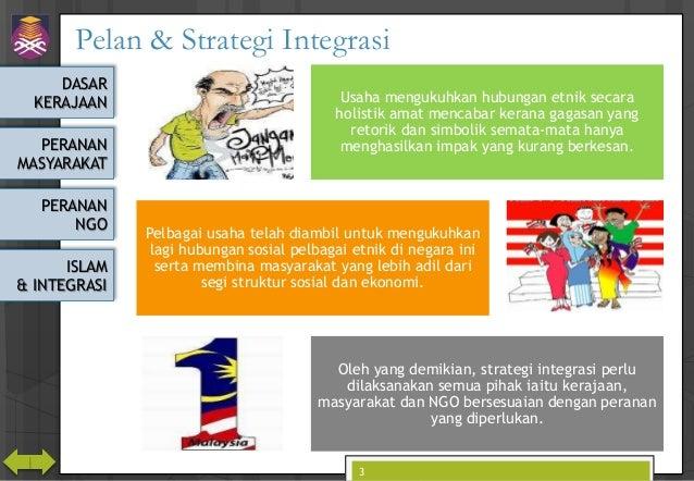 CTU555 Sejarah Malaysia - Hubungan Etnik ke arah Masyarakat Berintegrasi Slide 3