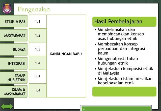 CTU555 Sejarah Malaysia - Kesepaduan dalam Kepelbagaian di Malaysia Slide 2