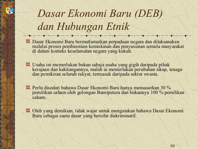 Hubungan Etnik Bab 4 Pembangunan Ekonomi