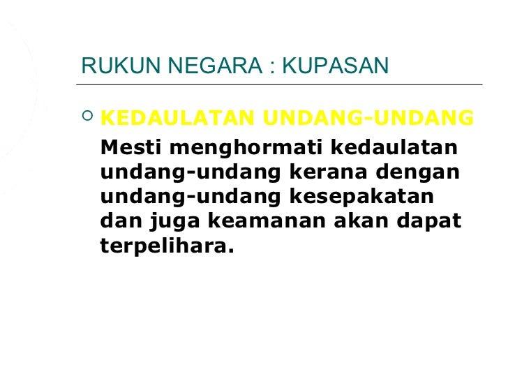 Sayangi Malaysiaku Rukun Negara