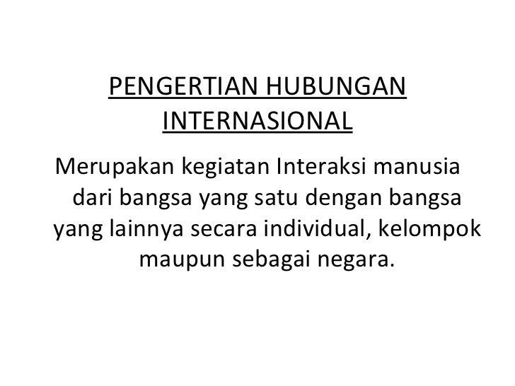 Hubungan internasional dan organisasi internasional Slide 2