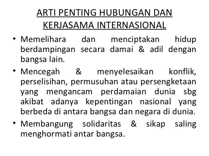 Hubungan internasional dan organisasi internasional Slide 3
