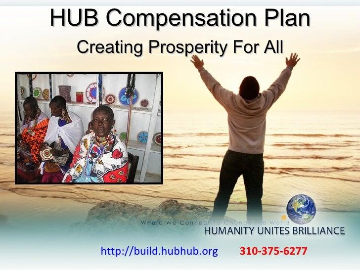 http://build.hubhub.org   310-375-6277  HUB Compensation Plan Creating Prosperity For All