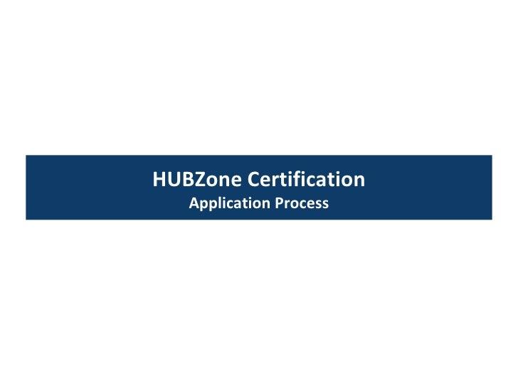 Understanding The Hubzone Program