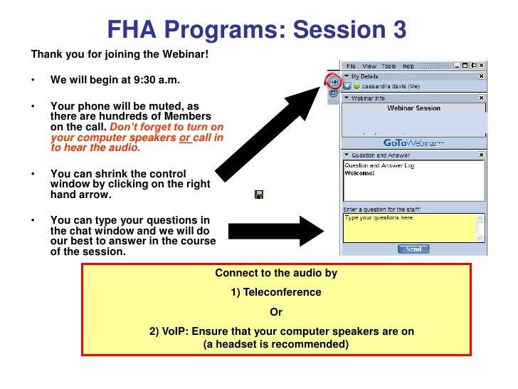 Hud slides webinar nov 30 2010
