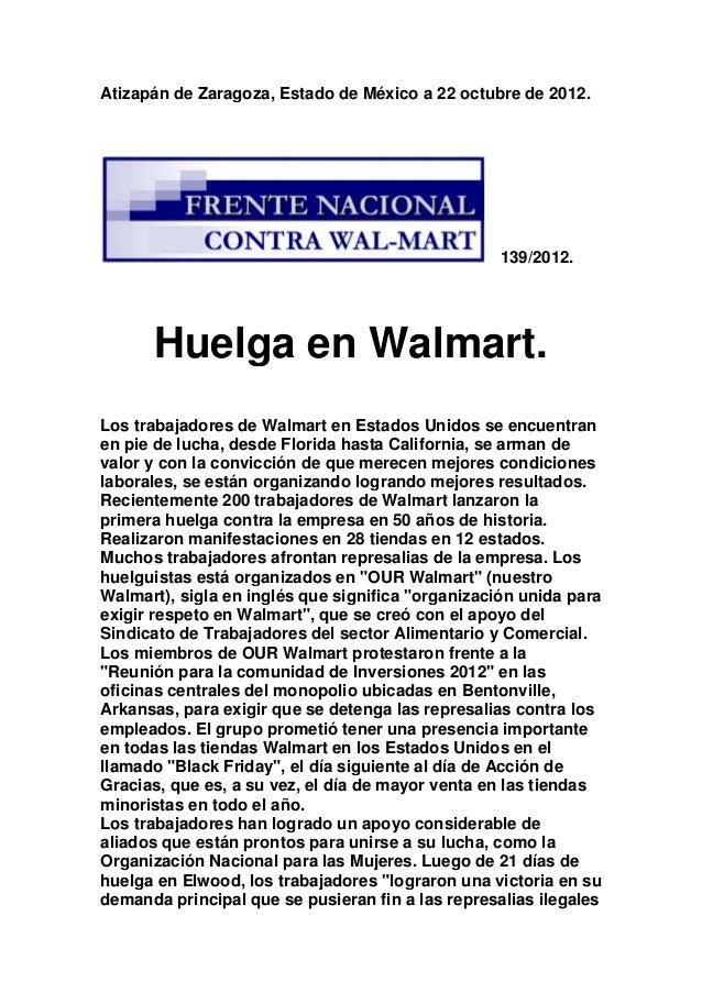 Atizapán de Zaragoza, Estado de México a 22 octubre de 2012.                                                   139/2012.  ...