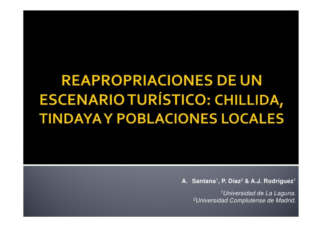 Reapropiaciones de un escenario turístico: Chillida, Tindaya y poblaciones locales.